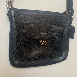 COACH LEATHER CROSS BODY PURSE